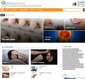 Omnia Salute, il primo portale dei medici di famiglia per i cittadini